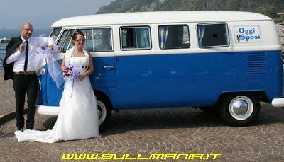 Noleggio vw bus for Targa oggi sposi